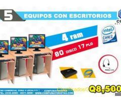 COMPUTADORAS IDEALES PARA COLEGIOS,INSTITUTOS, ESCUELAS CAFÉS INTERNET