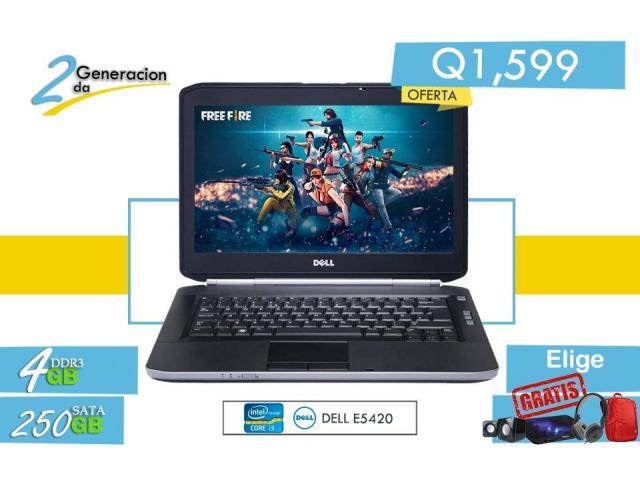 Laptop Core i3 económica