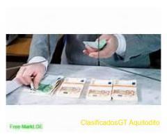 Asistencia y financiación rápida entre individuos honestos